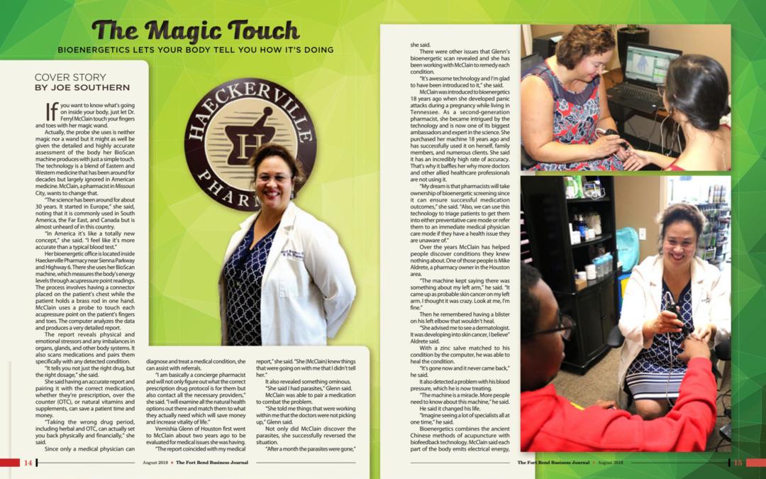 Dr. Ferryl McClain Business Journal Feature